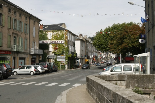 The town of Brassac