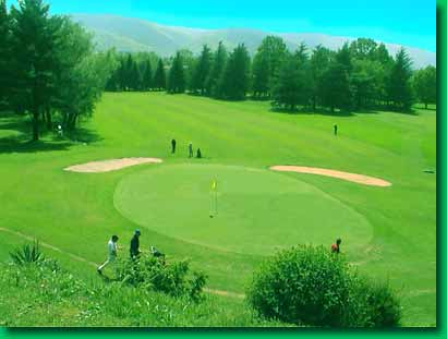 La Barouge Golf club, Mazamet